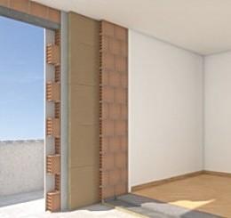 Applicazioni settore edile fibrac insulation sistemi for Isolamento termico pareti interne