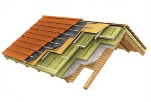 Isolamento copertura inclinata terminali antivento per for Tettoia inclinata del tetto